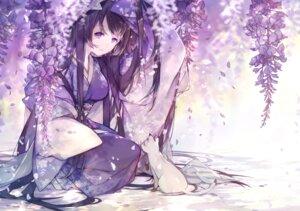 Rating: Safe Score: 48 Tags: kimono miyuki_(miyuki_05290) monochrome neko User: Mr_GT