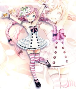 Rating: Safe Score: 33 Tags: dress kari_kenji rana_(vocaloid) thighhighs vocaloid User: Mr_GT