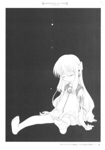 Rating: Safe Score: 7 Tags: bandages flower kowarekake_no_orgel monochrome utatane_hiroyuki User: crim