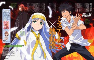 Rating: Safe Score: 7 Tags: index kamijou_touma stiyl_magnus tanaka_yuuichi to_aru_majutsu_no_index User: vita