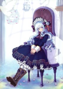 Rating: Safe Score: 41 Tags: dress juke lolita_fashion snow_ring User: fireattack