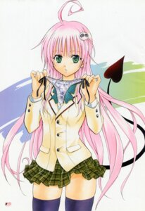 Rating: Questionable Score: 35 Tags: lala_satalin_deviluke nopan to_love_ru yabuki_kentarou User: Share