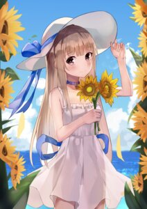 Rating: Questionable Score: 25 Tags: cleavage dress hwanhee nopan see_through skirt_lift summer_dress User: whitespace1