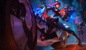 Rating: Safe Score: 7 Tags: caitlyn cleavage gun heels jinx league_of_legends megane police_uniform possible_duplicate tagme vi_(league_of_legends) User: Radioactive