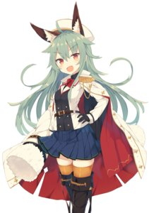 Rating: Safe Score: 36 Tags: animal_ears nibiiro_shizuka thighhighs uniform User: Mr_GT
