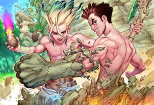 Rating: Questionable Score: 9 Tags: boichi dr_stone male User: Radioactive