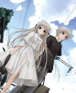 Rating: Safe Score: 24 Tags: dress hashimoto_takashi kasugano_haruka kasugano_sora possible_duplicate sphere yosuga_no_sora User: Radioactive