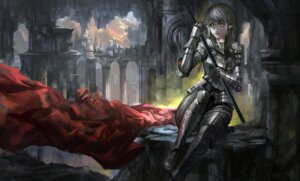 Rating: Safe Score: 26 Tags: armor baka_(mh6516620) pointy_ears sword User: Mr_GT