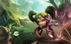 Rating: Safe Score: 9 Tags: elf foliage league_of_legends pointy_ears poppy teemo User: fairyren