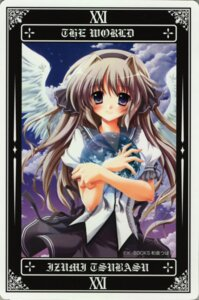 Rating: Safe Score: 14 Tags: card izumi_tsubasu tarot wings User: petopeto