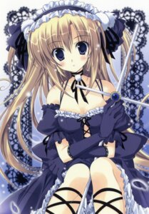 Rating: Safe Score: 52 Tags: gothic_lolita korie_riko lolita_fashion scanning_dust User: fireattack