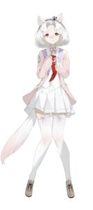 Rating: Safe Score: 16 Tags: animal_ears helic_(7317helic) seifuku sweater tail thighhighs User: Mr_GT