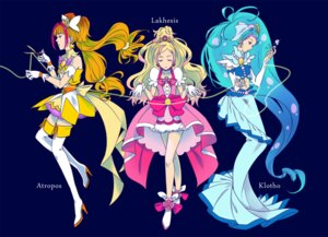 Rating: Safe Score: 6 Tags: amanogawa_kirara dress go!_princess_pretty_cure haruno_haruka heels kaidou_minami pretty_cure takahara_hiroha thighhighs User: animeprincess