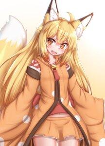 Rating: Safe Score: 7 Tags: animal_ears horokusa kitsune tail User: dick_dickinson