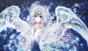 Rating: Safe Score: 23 Tags: crease gensoudou shiitake wings User: Lilayuriko