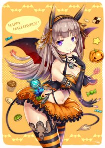 Rating: Safe Score: 59 Tags: cleavage gia halloween stockings tail thighhighs wings User: Mr_GT