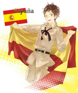 Rating: Safe Score: 3 Tags: hetalia_axis_powers male spain utako User: Amperrior