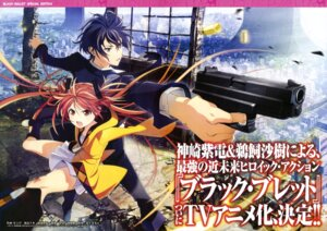 Rating: Safe Score: 24 Tags: aihara_enju black_bullet gun satomi_rentarou umishima_senbon User: drop