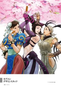Rating: Safe Score: 10 Tags: capcom chinadress chun_li digital_version han_juri ibuki no_bra nopan pantyhose street_fighter User: Radioactive