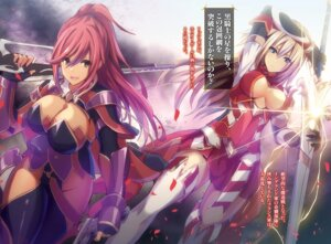 Rating: Questionable Score: 17 Tags: armor cleavage gun meron_to_maria no_bra sword tagme thighhighs ulysses_jeanne_d'arc_to_renkin_no_kishi User: kiyoe