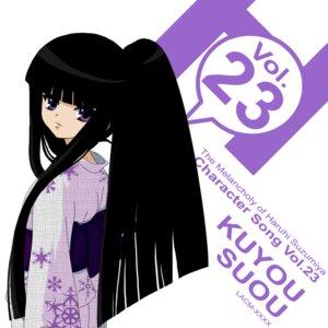 Rating: Safe Score: 6 Tags: disc_cover suou_kuyou suzumiya_haruhi_no_yuuutsu yukata User: LHM-999