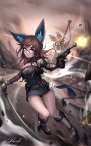 Rating: Safe Score: 12 Tags: animal_ears blade_&_soul gun kie_(wylee2212) megane tagme weapon User: Dreista