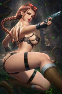 Rating: Questionable Score: 27 Tags: bra erect_nipples garter gun lara_croft lingerie megane nudtawut_thongmai pantsu tomb_raider User: Darkthought75