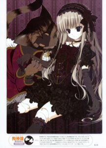 Rating: Safe Score: 55 Tags: gothic_lolita inugami_kira lolita_fashion neko User: crim