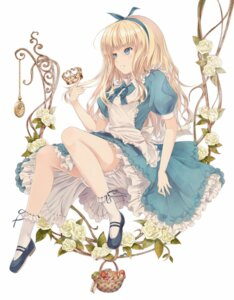 Rating: Safe Score: 72 Tags: alice alice_in_wonderland bloomers dress supertie User: Platinum