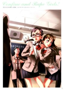 Rating: Safe Score: 10 Tags: megane nishieda seifuku User: Radioactive
