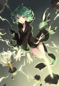 Rating: Safe Score: 60 Tags: dress ekita_gen one_punch_man saitama tatsumaki_(one_punch_man) User: Mr_GT