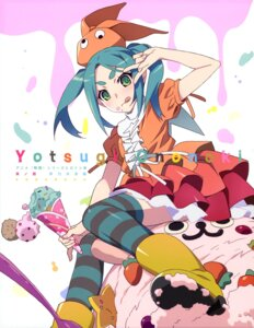 Rating: Safe Score: 30 Tags: bakemonogatari dress heels ononoki_yotsugi thighhighs User: drop