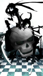 Rating: Safe Score: 31 Tags: bikini_top black_rock_shooter black_rock_shooter_(character) dead_master domu vocaloid User: Radioactive