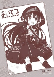 Rating: Safe Score: 17 Tags: cura digital_version hachiroku lose maitetsu monochrome uniform User: Twinsenzw
