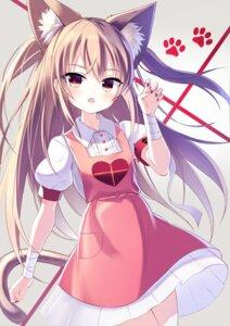 Rating: Safe Score: 15 Tags: animal_ears bandages natori_sana nekomimi nurse sana_channel satou_(3366_s) tail User: charunetra