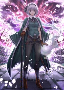 Rating: Safe Score: 21 Tags: konpaku_youmu sword touhou zucchini User: Mr_GT
