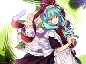 Rating: Safe Score: 30 Tags: kagiyama_hina monety touhou wallpaper User: ContraZero