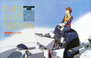 Rating: Safe Score: 3 Tags: ingram izubuchi_yutaka izumi_noa mecha patlabor police_uniform uniform User: Radioactive