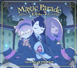 Rating: Safe Score: 15 Tags: atsuko_kagari disc_cover little_witch_academia lotte_yanson megane seifuku sucy_manbabalan thighhighs weapon witch User: blooregardo