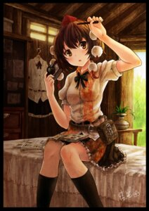 Rating: Safe Score: 51 Tags: oto_taku shameimaru_aya touhou User: Mr_GT