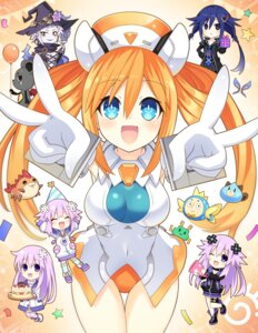 Rating: Safe Score: 19 Tags: ankokuboshi_kurome chibi choujigen_game_neptune leotard magiquone nepgear neptune neptune_(shinjigen_game_neptune_vii) no_bra orange_heart pirachu shinjigen_game_neptune_vii thighhighs umio_(choujigen_game_neptune) witch zero_(ray_0805) User: Nepcoheart