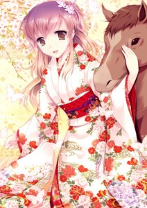 Rating: Safe Score: 24 Tags: cetera japanese_clothes kimono User: 椎名深夏