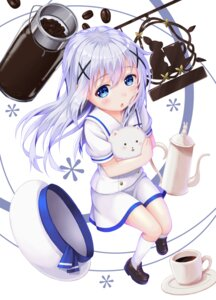 Rating: Safe Score: 53 Tags: gochuumon_wa_usagi_desu_ka? hane_yoshiyumi kafuu_chino seifuku tippy_(gochuumon_wa_usagi_desu_ka?) User: Mr_GT