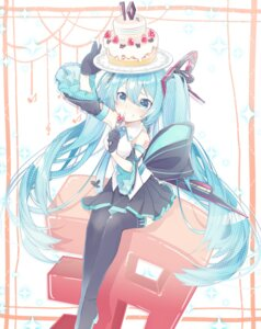 Rating: Safe Score: 35 Tags: chuuko_anpu hatsune_miku tattoo thighhighs vocaloid User: Mr_GT