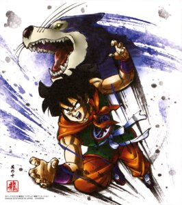 Rating: Safe Score: 13 Tags: dragon_ball male yamcha User: drop