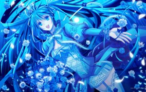 Rating: Safe Score: 40 Tags: hatsune_miku thighhighs vocaloid wallpaper yuuno_(yukioka) User: Share