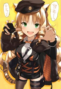 Rating: Safe Score: 33 Tags: animal_ears arknights garter oota_yuuichi swire_(arknights) tail thighhighs User: Mr_GT