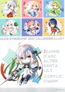 Rating: Safe Score: 7 Tags: alicesyndrome* fate/grand_order jeanne_d'arc_alter_santa_lily toosaka_asagi User: kiyoe