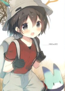 Rating: Questionable Score: 14 Tags: kaban_(kemono_friends) kemono_friends shiratama shiratamaco User: Radioactive