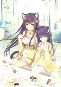 Rating: Safe Score: 60 Tags: animal_ears fumuyun japanese_clothes tagme tail thighhighs User: Twinsenzw